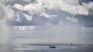 Näkymä Saipanin saarelta 21. lokakuuta.