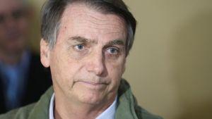 Brasilian seuraava presidentti on äärioikeistolainen Jair Bolsonaro.