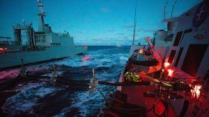 Naton Trident Juncture -sotaharjoitus.