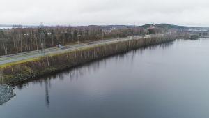 Näsijärvi Paasikiventien kupeessa