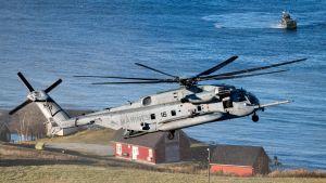 NATO:n sotaharjoitus Trident Juncture Trondheimissa, Norjassa 30. lokakuuta.