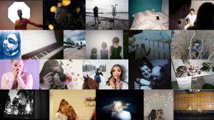 kokoelma valokuvia