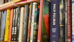 Kirjat kirjahylly lukeminen kirjakauppa kirjasto