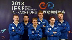 Suomen joukkue Taiwanissa.