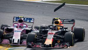 Esteban Ocon, Max Verstappen