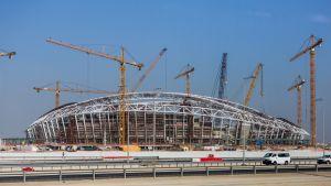 Qatarin MM-areena rakenteilla