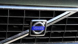 Volvon etusäleikkö.