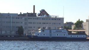 Hotellilaiva Wuoksi Kuopion Matkustajasatamassa