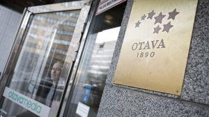 Otavamedian sisäänkäynti Helsingissä.