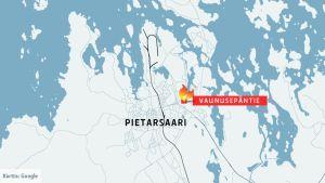 Pietarsaari Kartta