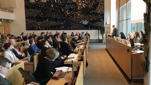 Tampereen kaupunginvaltuuston budjettikokous