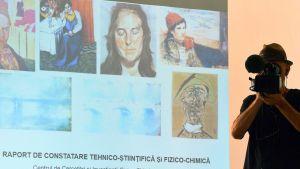 "Pablo Picasson ""Tete d'Arlequin"""