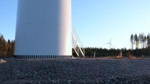 Tuulivoimala Kalajoella.
