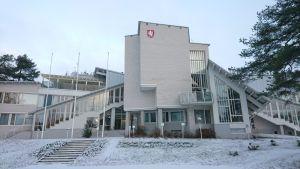 Valtimon kuntalaistalo marraskuussa 2018.