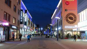 Jyväskylän Kauppakatu kävelykatu