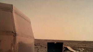 InSight-luotaimen ottama kuva Marsista.