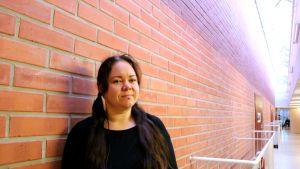 Joensuulainen yliopisto-opiskelija Maria Kähäri marraskuussa 2018