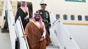 Saudi-Arabian kruununprinssi Muhammed bin Salman.