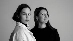 Emma Saarnio (vas) ja Helmi Liikanen