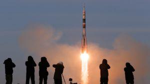 Venäläinen miehitetty Sojuz-avaruusalus laukaistiin maanataina 3. marraskuuta.