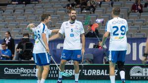 Suomi salibandyn MM-kisoissa 2018.