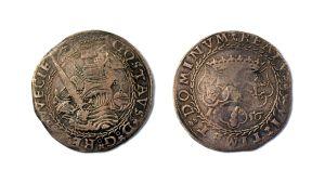 Turussa vuonna 1556 lyöty markka.