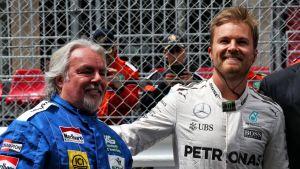 Keke Rosberg poikansa Nico Rosbergin kanssa.