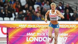 Camilla Richardsson Lontoon MM-kisoissa 2017