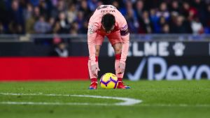 Lionel Messi teki tuhojaan vapaapotkuista.