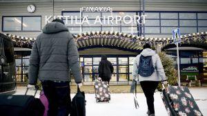Kittilän lentokenttä.