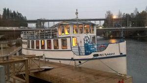 m/s Pyhäjärvi Heinolan satamassa