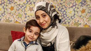 Kun Nemat Khalilin pieni perhe tuli Suomeen syksyllä 2015, nyt viisivuotias Ghaith oli vain puolitoistavuotias.