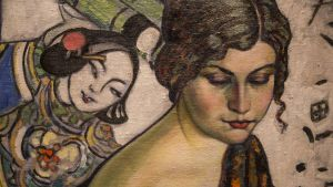 Konrad Mägi, Naisen muotokuva