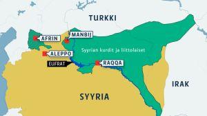 Syyrian kurdialueet