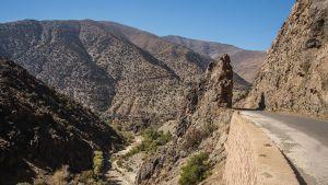 Tie Toubkalin alueella.