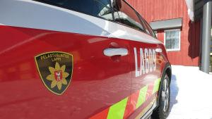 Lapin pelastuslaitos palolaitos auto