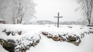 Kiihtelysvaaran kirkon raunio