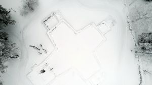 Kiihtelysvaaran kirkon rauniot