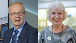 Unto Hämäläinen ja Liisa Hyssälä.