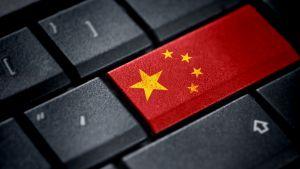 Tietokoneen näppis, Kiinan lippu