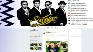 Seventeen band Twitter sivu.