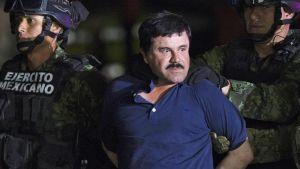 """Huumeparoni Joaquín """"El Chapo"""" Guzmán."""