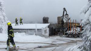 Tulipalo syttyi perjantaina 21. joulukuuta aamuyöllä.