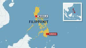 filippiinien kartta