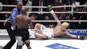 Floyd Mayweather ja Tenshin Nasukawa kuvassa