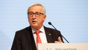 Euroopan komission puheenjohtaja Jean-Claude Juncker