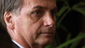 Jair Bolsonaro sai presidentinvaalien toisella kierroksella 55,1 prosenttia äänistä.