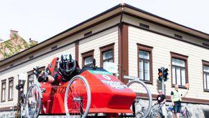 Hurja Mäkiautoralli järjestettiin Kuopiossa ensimmäistä kertaa toukokuussa 2018.