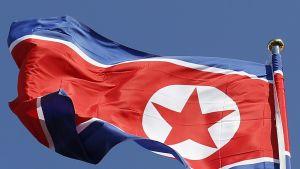 Pohjois-Korean lippu