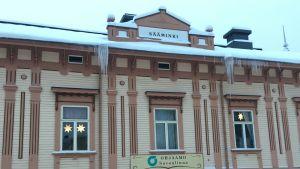 Sääminkitalo Savonlinnassa tammikuussa 2019